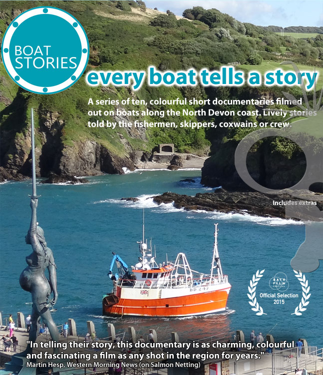 Boat Stories DVD & Blu-ray production - now on sale