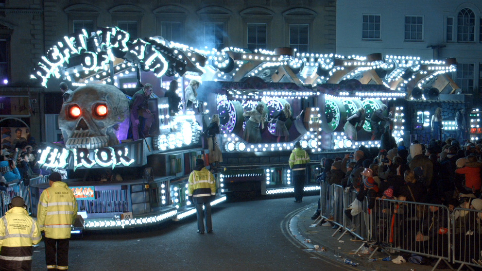 Live filming vision mixing  DVD & Blu-ray production for Bridgwater Carnival 2016