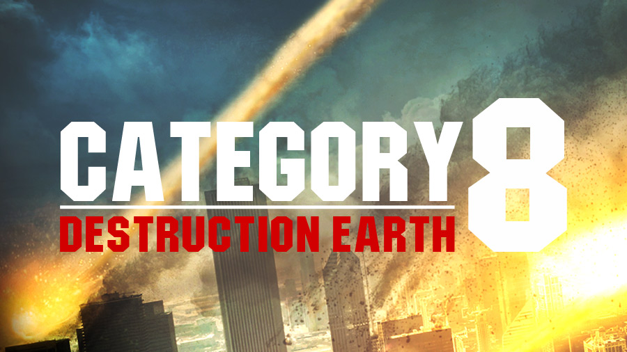 DVD authoring for Category 8: Destruction Earth film
