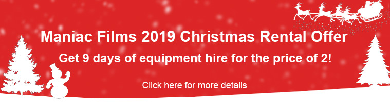 2019 Christmas & New Year Camera Hire Offer