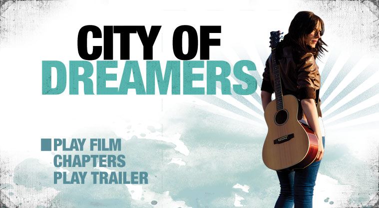 Authoring for City Of Dreamers DVD release
