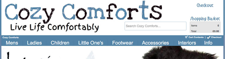 CozyComforts Online Store Goes Live