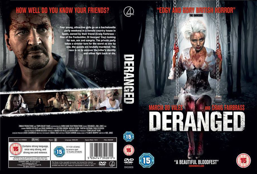 Deranged - A film shot using Maniac lenses gets UK DVD release