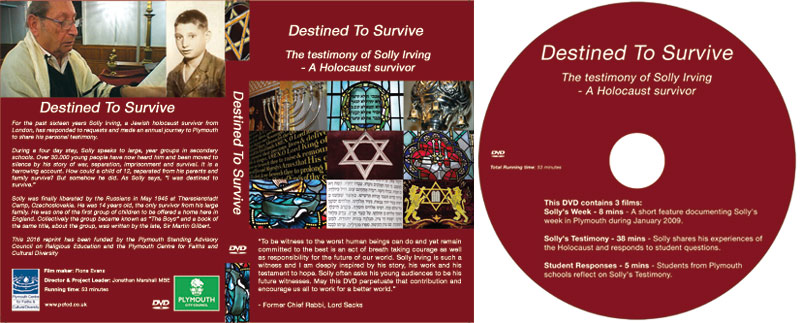 Replication for Destined To Survive Holocaust DVD
