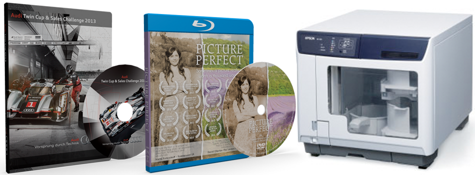 DVD & Blu-ray Duplication & Replication Services