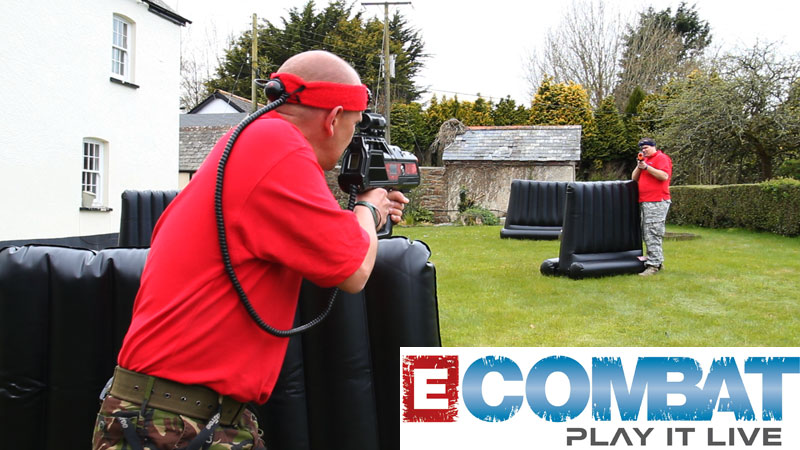 Presenter filming for Ecombat promotional & instructional films