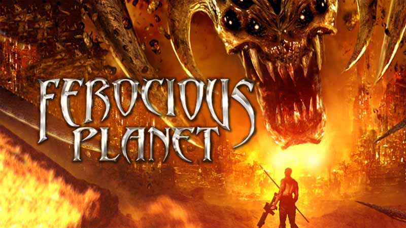 Ferocious Planet trailer build for online streaming