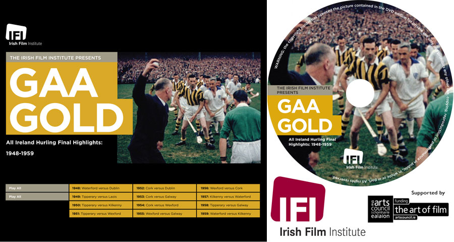 DVD authoring for Irish Film Institute GAA Gold film