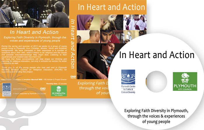 DVD production for In Heart & Action