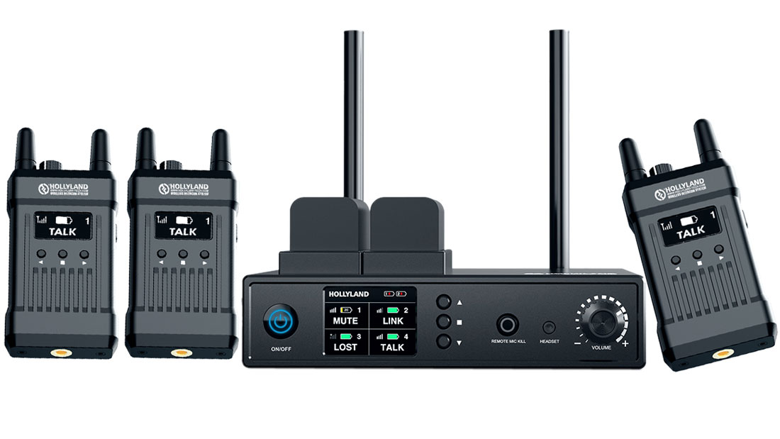 Hollyland Mars wireless talkback system in stock
