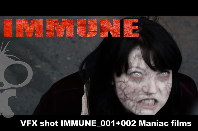 IMMUNE VFX Shots for Coventry Based VirusZombie Film