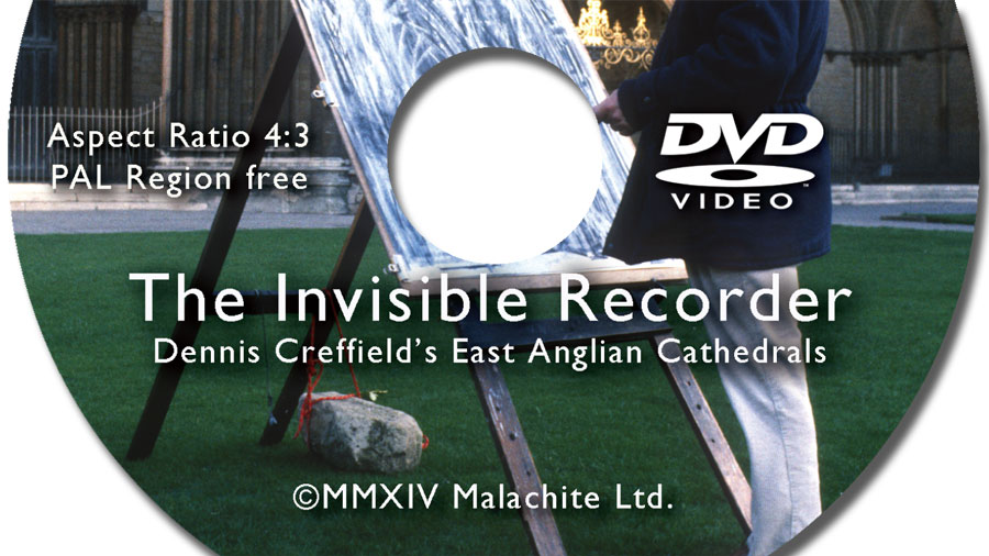 DVD Duplication for The Invisible Recorder - Dennis Creffield Film