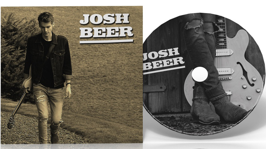CD Duplication & design for Josh Beer