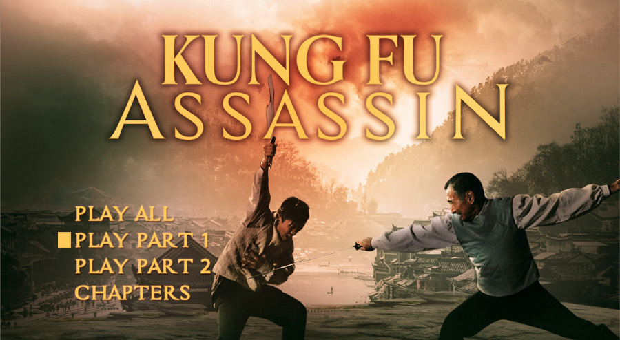 Kung Fu Assassin DVD Authoring