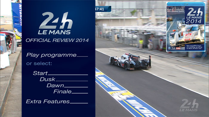 Blu-ray Production for Le Mans 24h 2014 Review