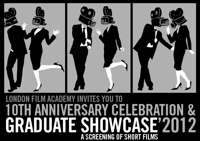 Maniac Films sponsor London Film Academy LFA Graduation Showcase 2012