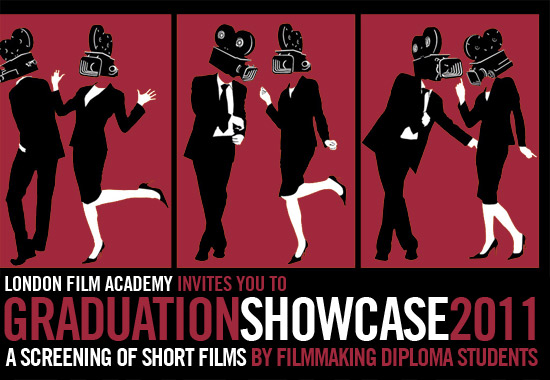 Maniac Films sponsor London Film Academy LFA Graduation Showcase 2011