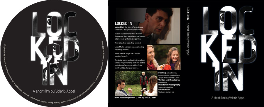 DVD authoring & printing for short film Locked In