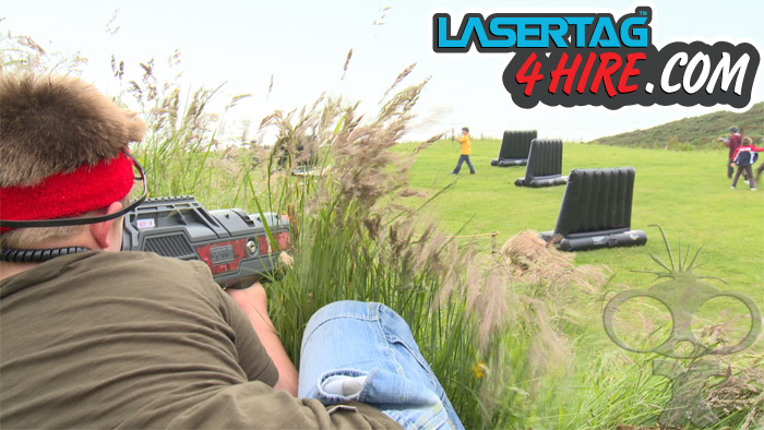 Additional filming for Laser Tag 4 Hire promotional films