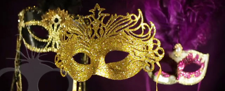 Masquerade ball video montage for Blue Fizz Events