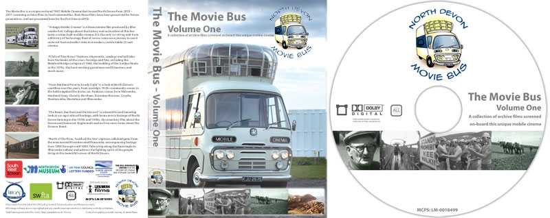 North Devon Movie Bus DVDs go on sale