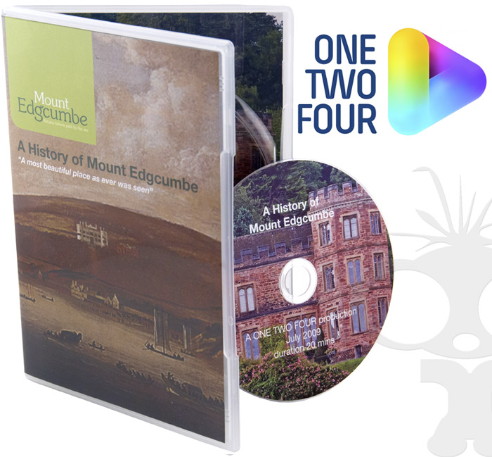 DVD Duplication for Mount Edgcumbe with OneTwoFour