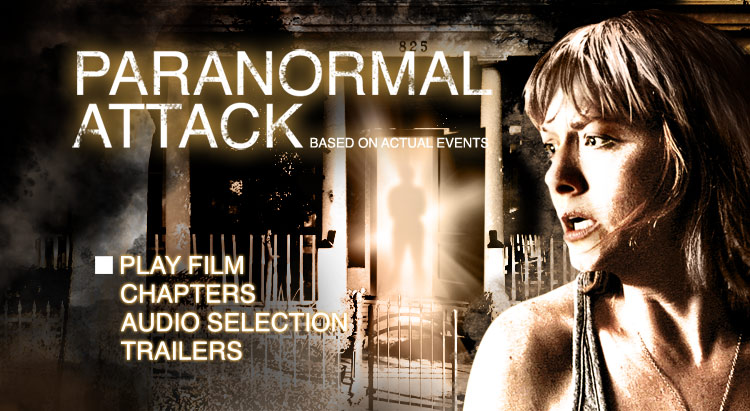 Paranormal attack - DVD authoring for retail release