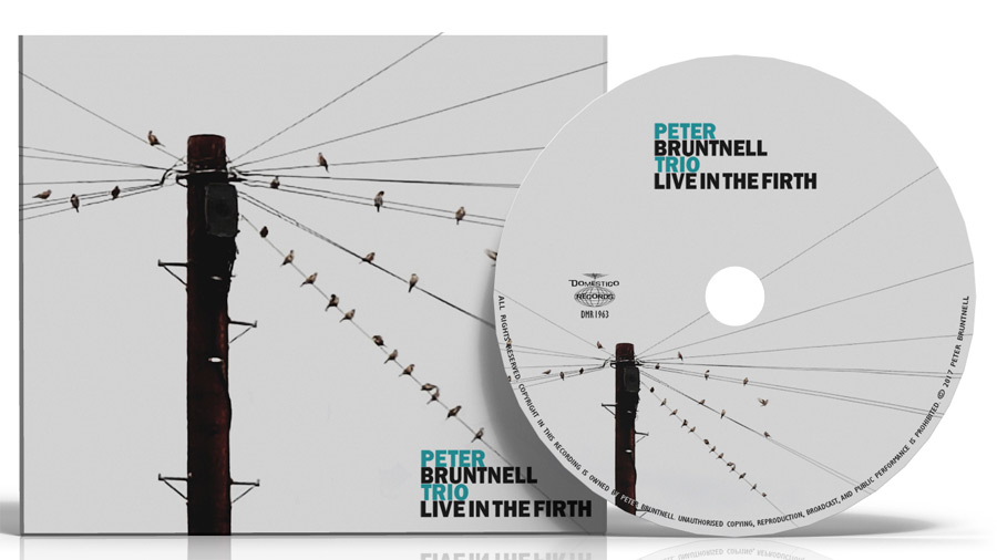 CD production for Peter Bruntnell Live in the Firth album