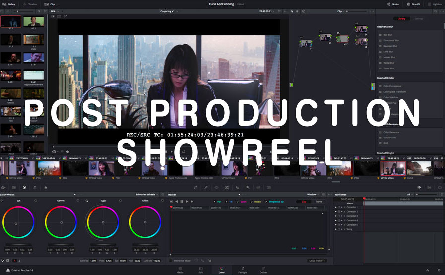 Maniac Films Post Production Showreel 2019