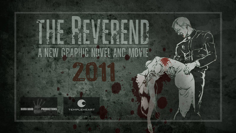 Filming starts on The Reverend - Maniac Films provide crew & cameras