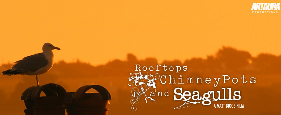 Artaura Productions website for Rooftops Chimney Pots & Seagulls goes live