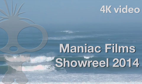 Maniac Films 2014 Showreel Released