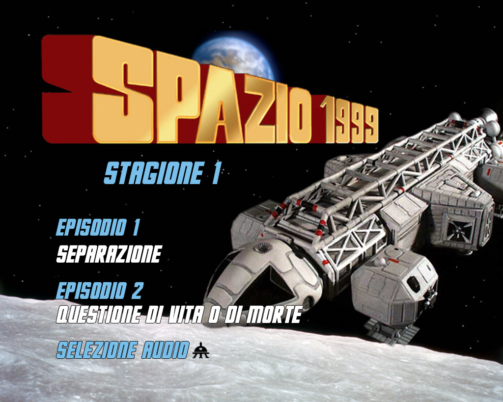 DVD authoring for Italian release of Space 1999