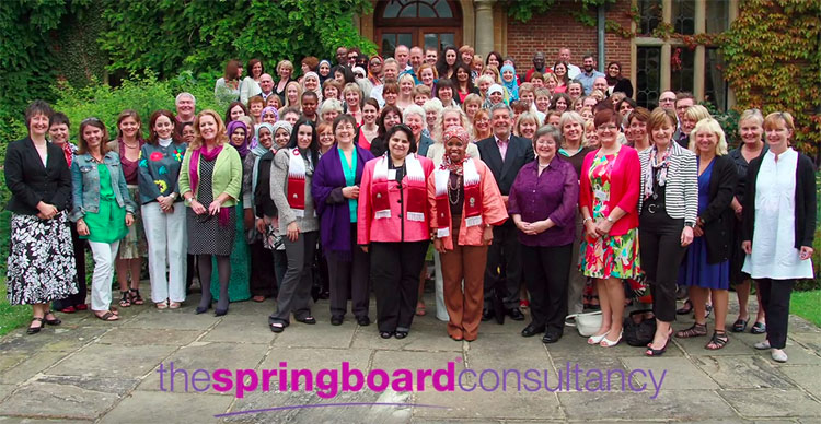 Advert created for the 2012 Springboard conference
