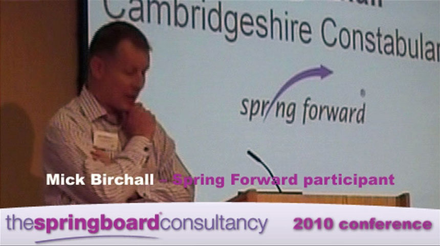 Web video edits for Springboard Consultancy