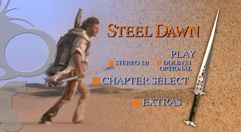 DVD Authoring for Steel Dawn