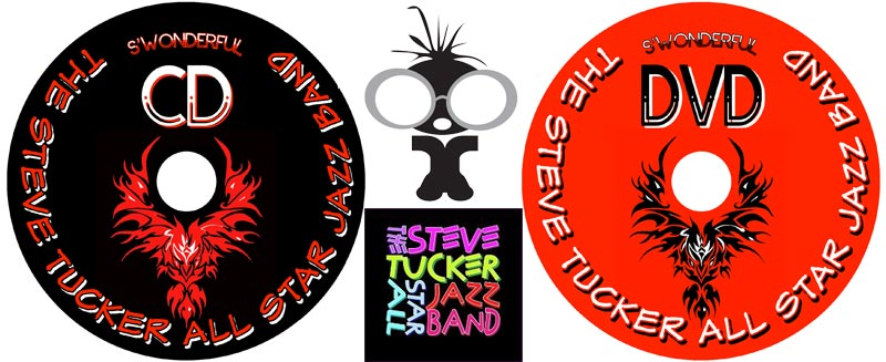 Live video editing and CD & DVD authoring for Steve Tucker