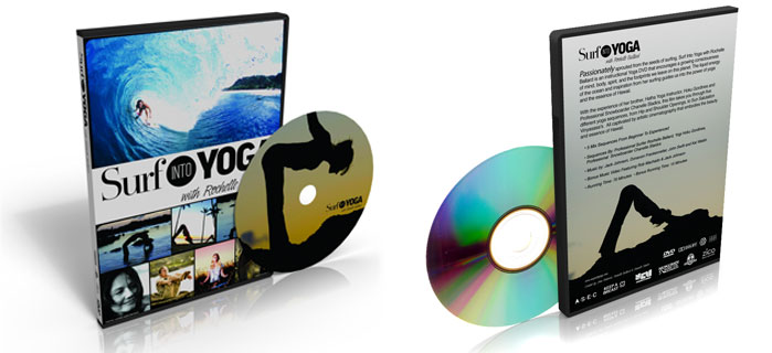 Surf into Yoga DVD duplication for Extreme Horizon