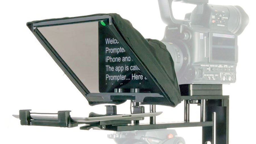 TP-300 Teleprompter kit - how to use it