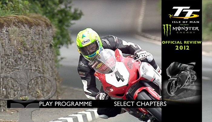 Blu-ray authoring & NTSC conversion for IOM TT 2012