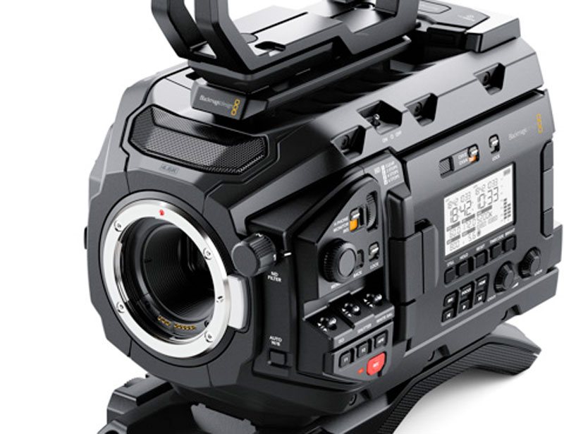 Blackmagic URSA Mini Pro 46K available for hire
