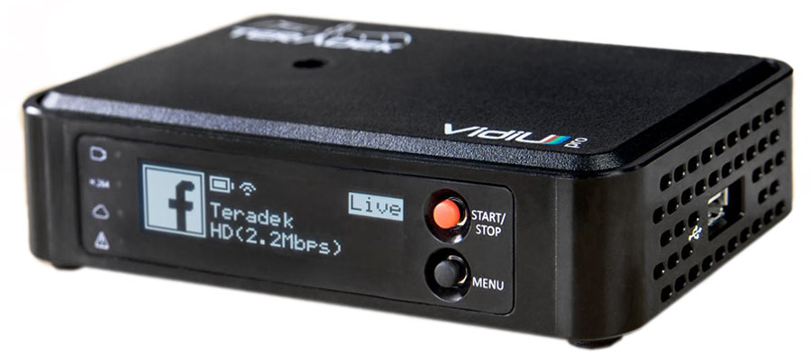 Teradek VidiU Live streaming kit