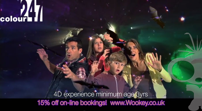 Wookey Hole Slow motion 200fps TV spots now online
