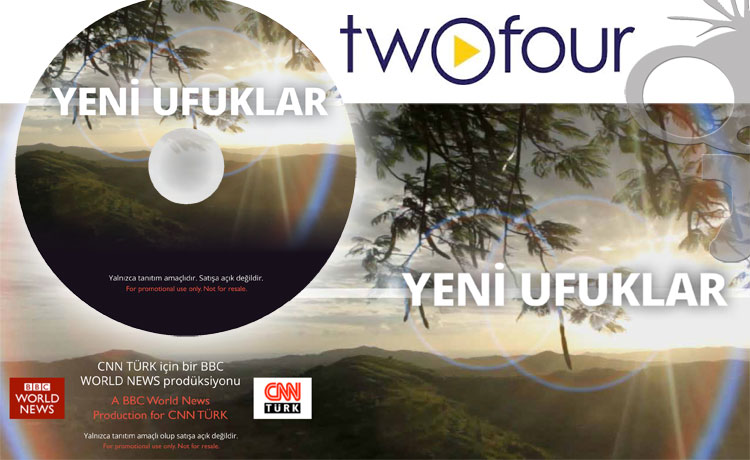 BBC Horizons Menu Design DVD Production & Duplication for Turkish Audiences