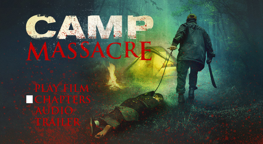 Camp Massacre DVD menu art