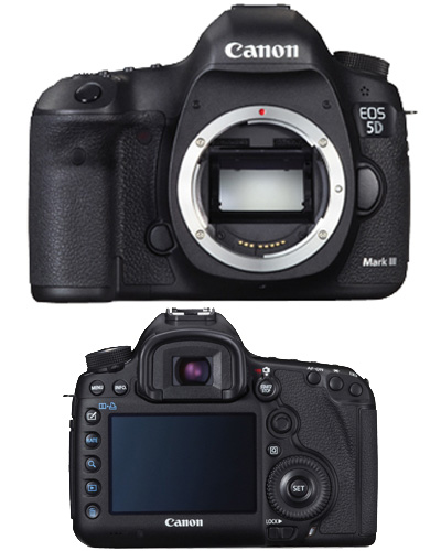 Canon EOS 5D mk III (5D3) DSLR Camera Kit
