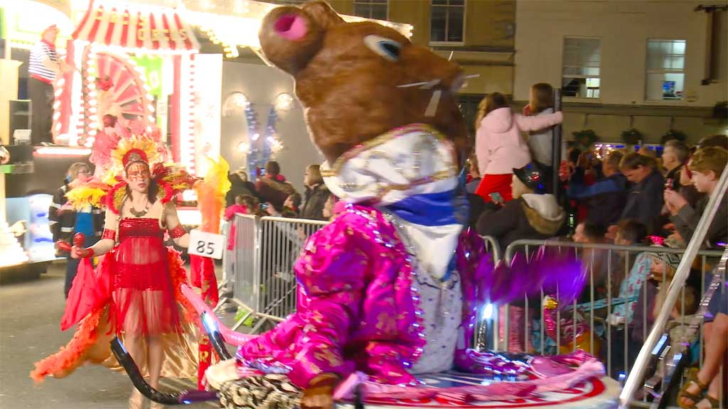 Bridgwater Carnival 2015 live roaming camera feed