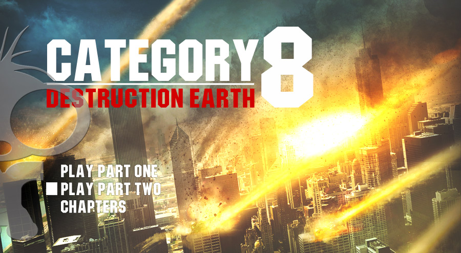 Category 8 Destruction Earth DVD menu art