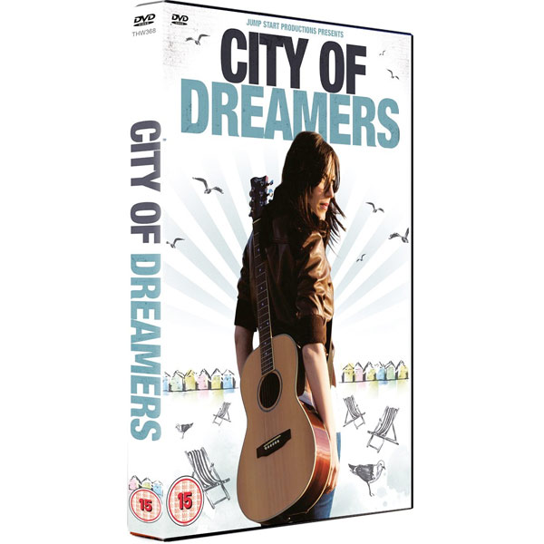 The cover art for City of Dreamers