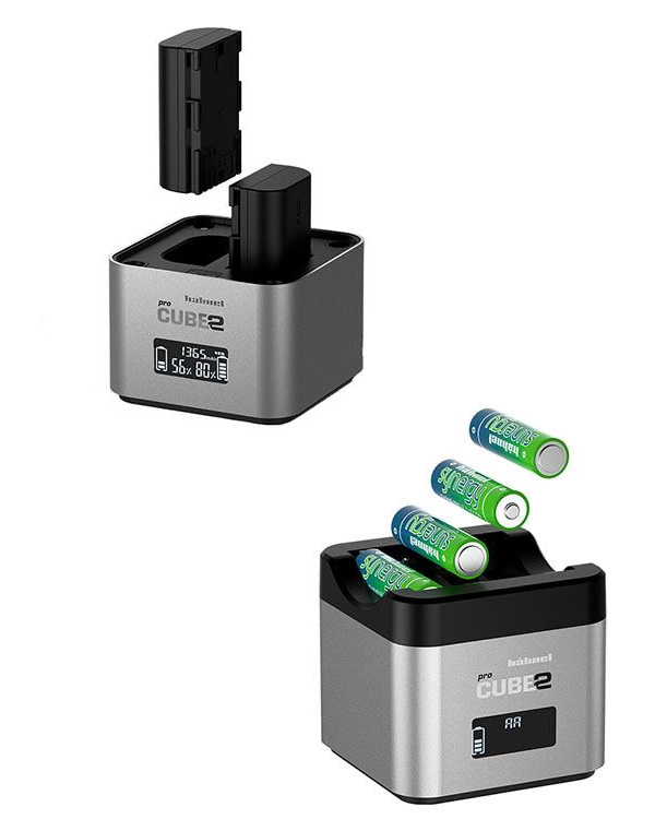 Hahnel ProCube II - Canon LP-E6 Dual Battery Charger